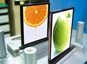 Bereits Ende 2007 hat auch Samsung bunte und flache OLEDs vorgestellt.