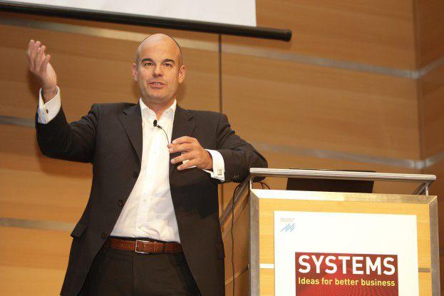 Marc Drüner forderte die Marketing-Experten zu mehr Aufgeschlossenheit gegenüber neuen Werbeformen auf.