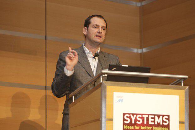 Thomas Herrmann zeigte auf, wie wichtig Google für die Unternehmen geworden ist.