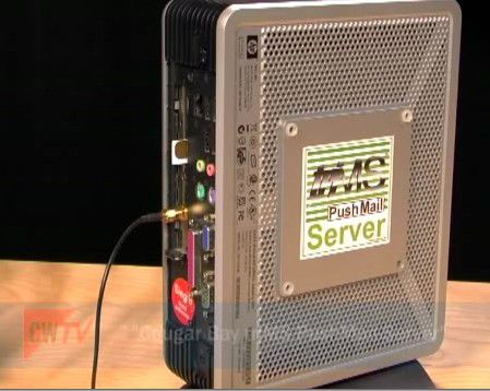 SMS-Versand via GSM-Modem: Der Trims-Pushmail-Server von Cougar Bay