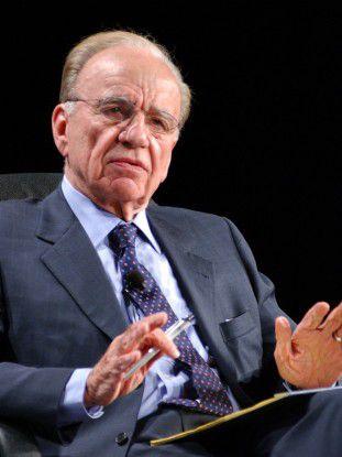 Rupert Murdoch (78) will bei Nachrichten zurück zu Paid Content.