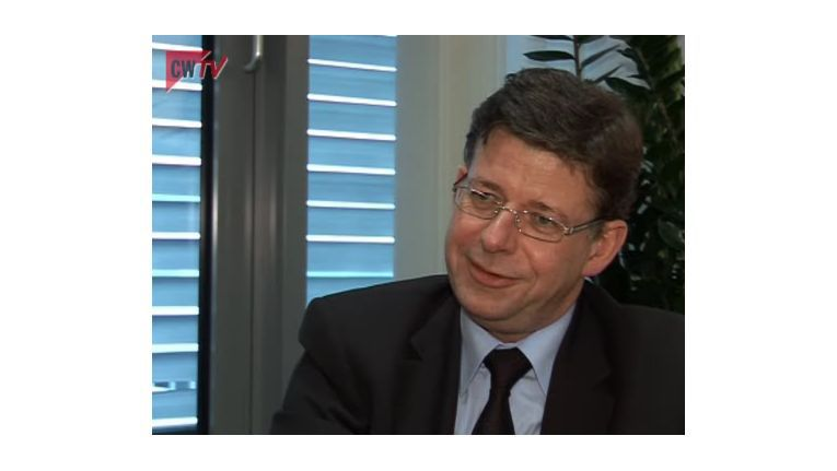 CW-TV: Reinhard Clemens, CEO von T-Systems, beklagt zu hohe Ausgaben.