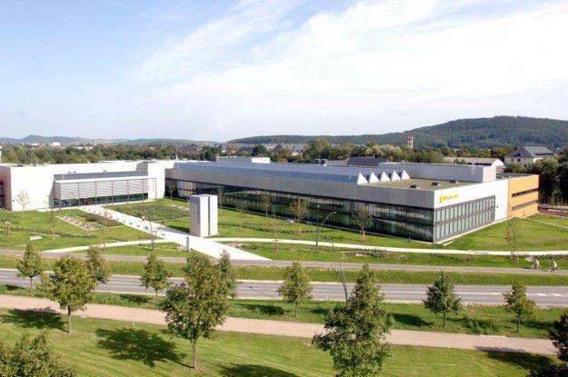 Alles unter einem Dach: im Logistikzentrum der HUK-COBURG werden täglich bis zu 78 000 Vorgänge (Briefe, E-Mails und Faxe) und 450 000 Aussendungen verarbeitet.