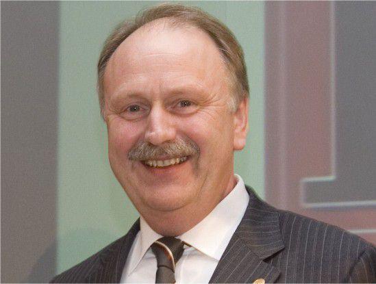 Sieht die CeBIT wieder auf dem richtigen Weg: Ernst Raue, Vorstandsmitglied der Deutschen Messe AG