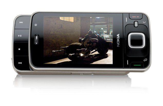 Nokias Multimedia-Handy N96 hat bereits DVB-H an Bord.