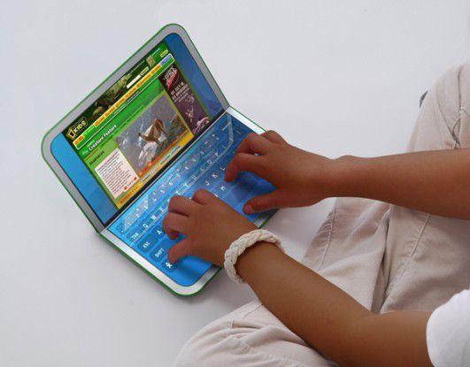 Der XO-2 hat zwei Touchscreens.
