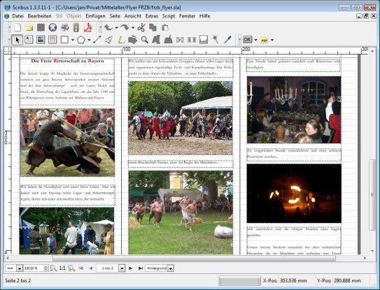 Die grafische Benutzeroberfläche hat wie bei den meisten Qt-Anwendungen das Aussehen einer KDE-Applikation unter Linux. Dennoch können auch Windows-Anwender das Programm weitgehend intuitiv bedienen.