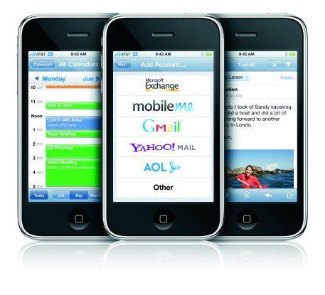 Mit seiner Multi-Touch-Bedienung hat das iPhone neue Maßstäbe gesetzt.