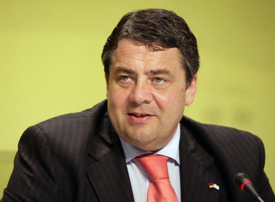 Sigmar Gabriel, prospektiver stellvertretender Bundeskanzler der schwarz-roten Regierung.