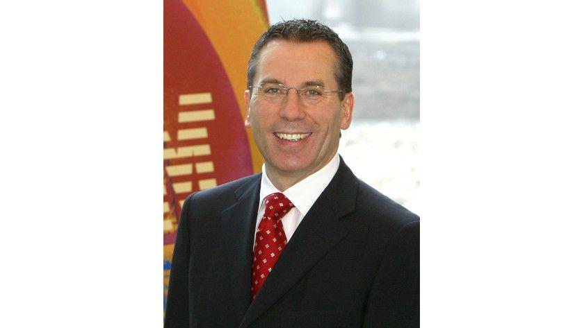 """Martin Jetter, Vorsitzender der Geschäftsführung IBM Deutschland GmbH: Dem Fachpublikum werden """"inhaltlich größere Themen"""" gezeigt."""
