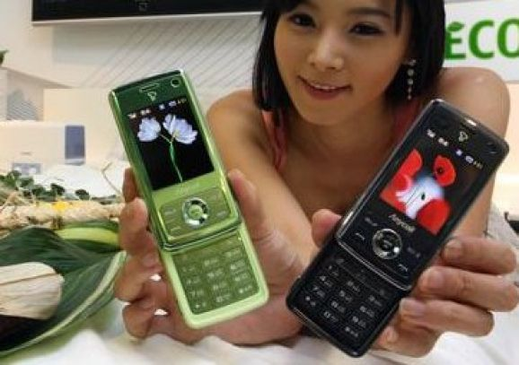 Der Mais ist heiß? Öko-Handy von Samsung