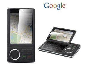 HTC Dream: Ein früher Prototyp von Ende 2007