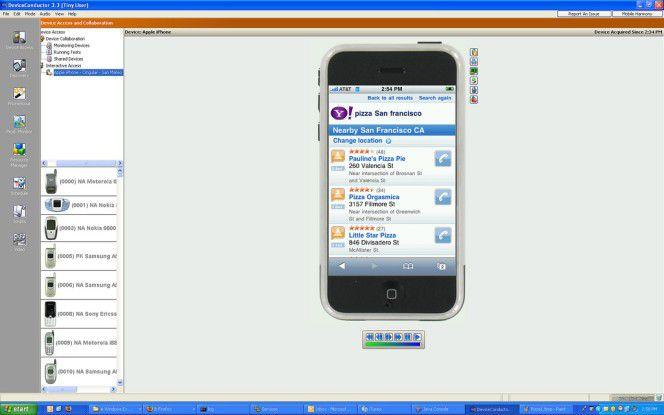 Über ein Web-Portal können Entwickler ihre iPhone-Applikationen auf Leib und Nieren testen.