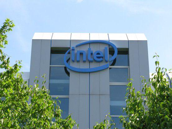 Die deutsche Intel-Zentrale in Feldkirchen bei München. Foto: Thomas Cloer