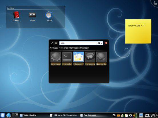 Der Personal Information Manager in KDE 4.1