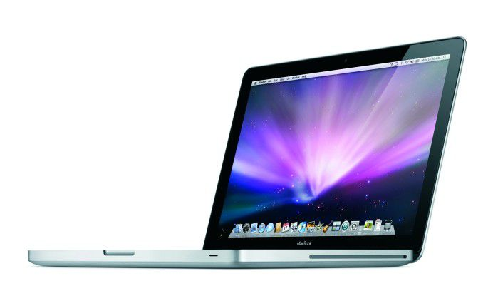 Das neue MacBook mit Alu-Gehäuse