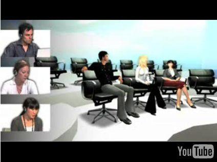 Schöner (und sicherer) konferieren in Second Life: Immersive Workspaces von Rivers Run Red und Linden Lab