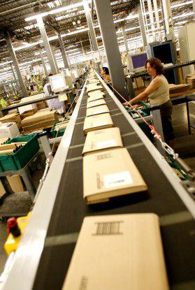 Amazon packte zur Holiday Season 2008 rekordverdächtig viele Pakete.