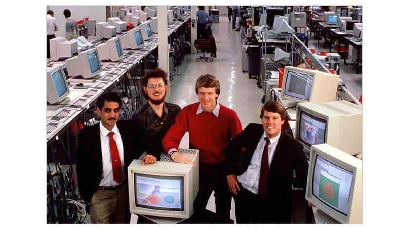 Die Sun-Gründer: Scott McNealy ganz rechts - im Jahr 1982.