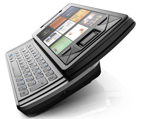 Sony Ericsson Xperia X1 - rissige Haut im Winter.