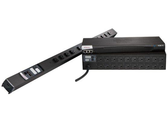 Die drei neuen 3-phasigen PDUs von Raritan können maximal 32 Ampere bei 400 Volt absichern. Sie lassen sich über eine zentrale Software auswerten und steuern.