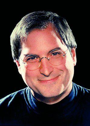 Steve Jobs - das offizielle Pressebild von Apple