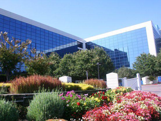 Intel-Zentrale in Santa Clara, Kalifornien