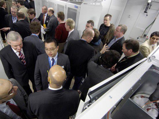 Auf der CeBIT will Rittal ein Live-Rechenzentrum betreiben, in dem die neuesten Techniken gezeigt werden.