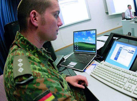 Die Streitkräfte mobilisieren ihre IT.