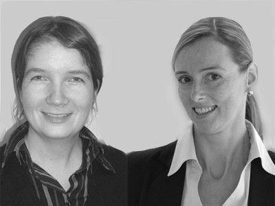Anke Spichale (links) und Sabine Neher.