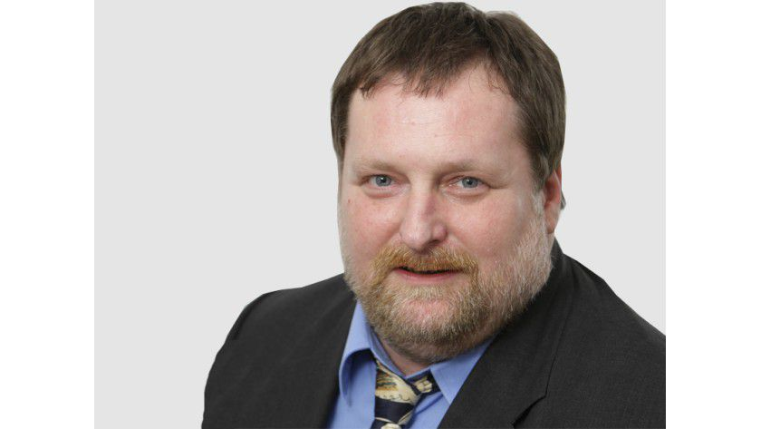 Jürgen Hill, Teamleiter Technik, bevorzugt ein schickes Ultrabook im 13-Zoll-Format