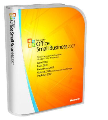 Microsofts Office Small Business Suite 2007.