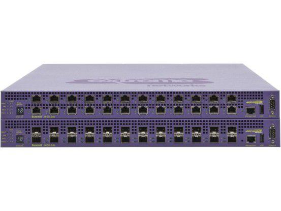 Der Top-of-Rack-Switch Summit X650 soll auf Basis vorhandener Kupferleitungen die kostengünstige Migration von Data-Center-Netzwerken auf 10-Gigabit-Technik ermöglichen.