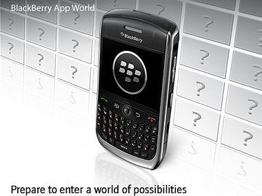 Blackberry App World: Der Download-Shop für Blackberrys startet im April in Deutschland.