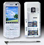 EcoGSM: Triple-SIM-Handy für Vielreisende.