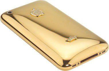 Goldig: Die auf 500 Stück limitierte iPhone-Edition von Sayn Design.