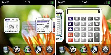 PalmOS im WebOS-Look: Tealpoint Software macht(e) es möglich.