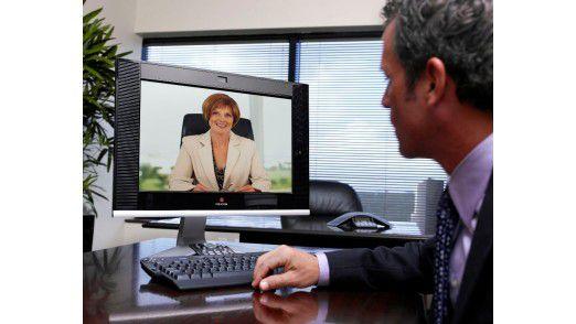 Den schnellen Zugang zu virtuellen Konferenzen eröffnen Desktop-Systeme.