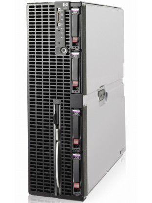 Die neuen Emulex-HBAs LightPulse LPe1205-HP können auch in HPs Server-Blades – im Bild ein HP Integrity BL870c – zum Einsatz kommen.