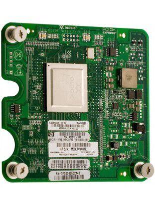 Mit dem QMH2562 bietet QLogic einen 8 GBit/s schnellen Fibre-Channel-HBA im Mezzanine-Kartenformat an.