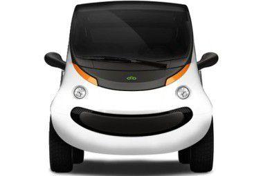 Chrysler Peapod: Öko-Auto mit iPhone als Zündschlüssel.