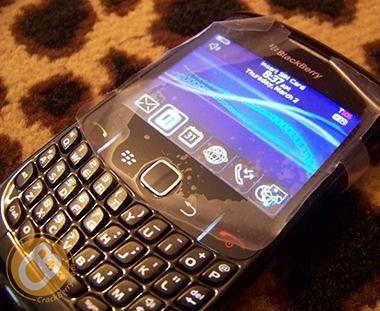 Codename Gemini: Das neue Blackberry Curve 8520 mit Mauspad statt Trackball.