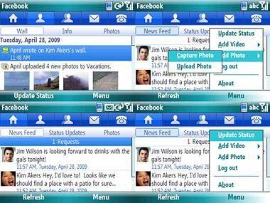 Microsoft hat Facebook-Client für Windows Mobile veröffentlicht.