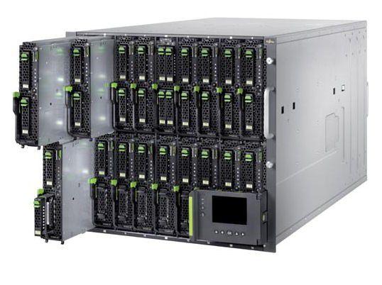 Das Blade-System Pimergy BX900 fasst maximal 18 Server-Einschübe mit Intel-Xeon 5500-CPUs.