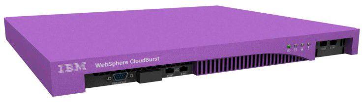 IBMs WebSphere CloudBurst Appliance ermöglicht den Zugriff auf virtuelle Software-Images und Patterns.
