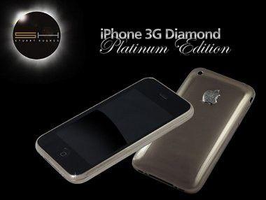 Nur 27.000 Euro: Neues Platin-iPhone von Goldstriker