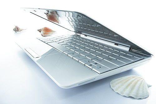 Das Design des neuen EeePC von Asus soll an eine Muschel erinnern.