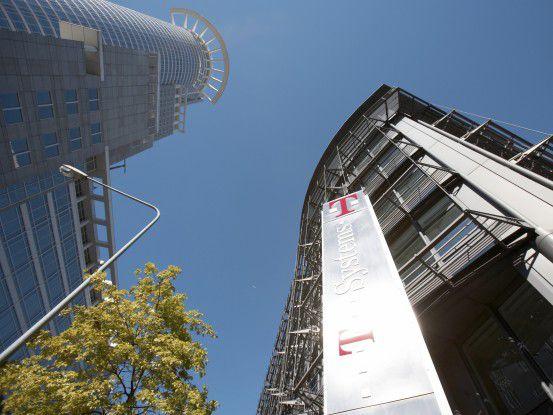 Die Zentrale von T-Systems in Frankfurt/Main