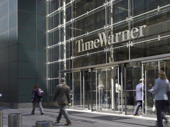 Die Zentrale von Time Warner in New York