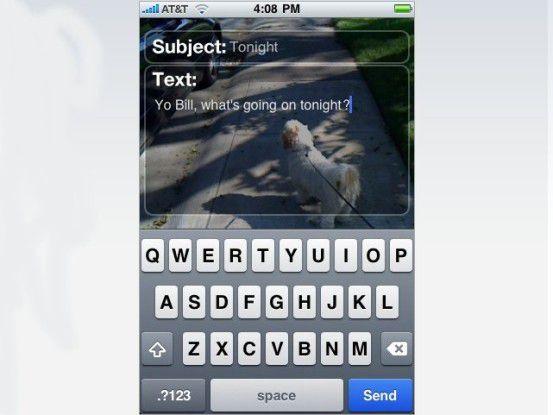 Email 'n Walk hilft iPhone-Nutzern, den Blick auf das Wesentliche zu behalten.
